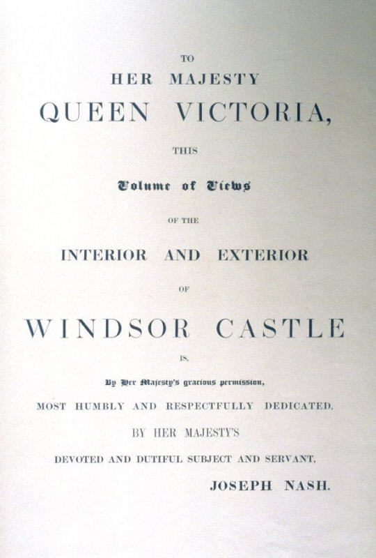 To Her Majesty Queen Victoria, This Volume of Views...