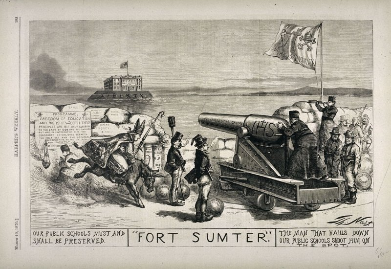 Fort Sumter, from Harper's Weekly, (March 19, 1870), p. 185