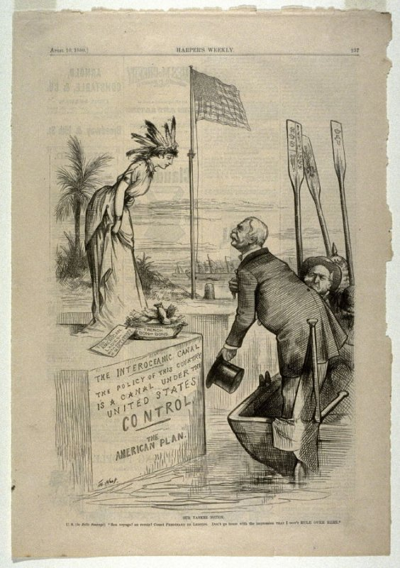 Our Yankee Notion, from Harper's Weekly, (April 10, 1880, p. 237