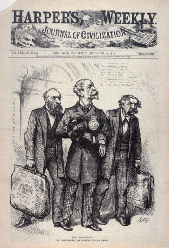 "More ""Pacification"", from Harper's Weekly, (December 22, 1877), cover page"