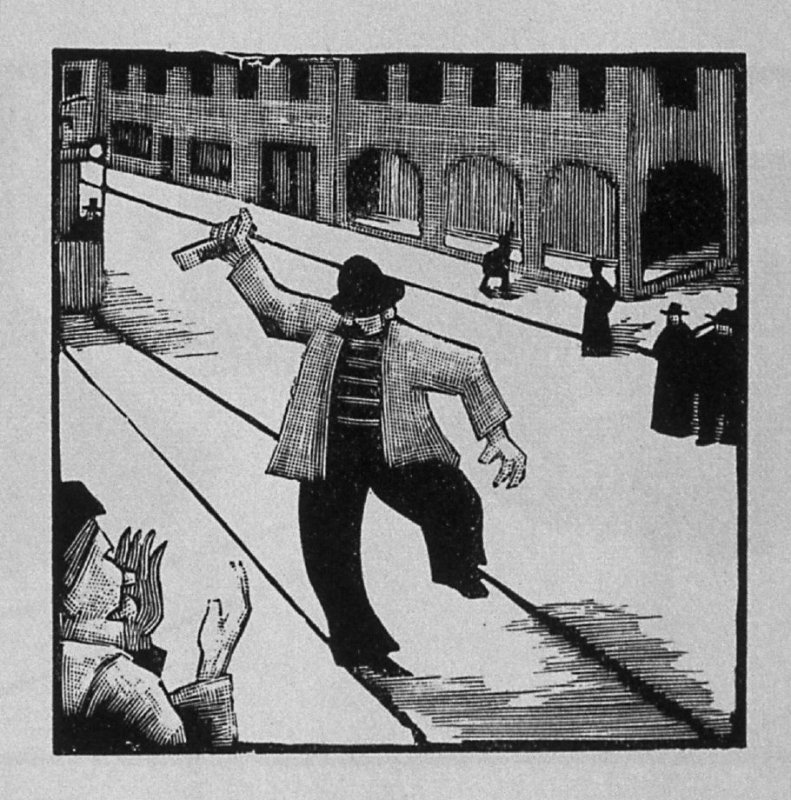 First image (of six) for The Father , chapter 2 in the book Destiny, A Novel in Pictures by Otto Nückel (New York: Farrar and Rinehart,Inc. [1930 ])