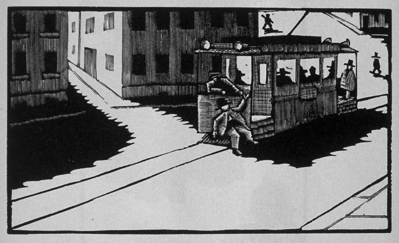 Second image (of six) for The Father , chapter 2 in the book Destiny, A Novel in Pictures by Otto Nückel (New York: Farrar and Rinehart,Inc. [1930 ])