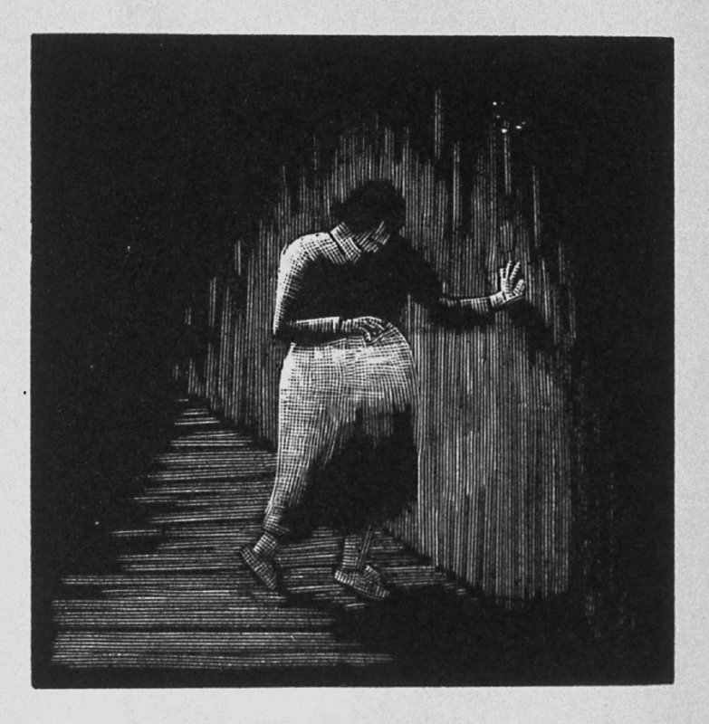 Third image (of twelve) for The Child , chapter 6 in the book Destiny, A Novel in Pictures by Otto Nückel (New York: Farrar and Rinehart,Inc. [1930 ])