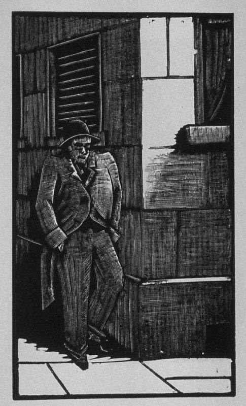 First image (of twelve) for The Hunchback , chapter 7 in the book Destiny, A Novel in Pictures by Otto Nückel (New York: Farrar and Rinehart,Inc. [1930 ])