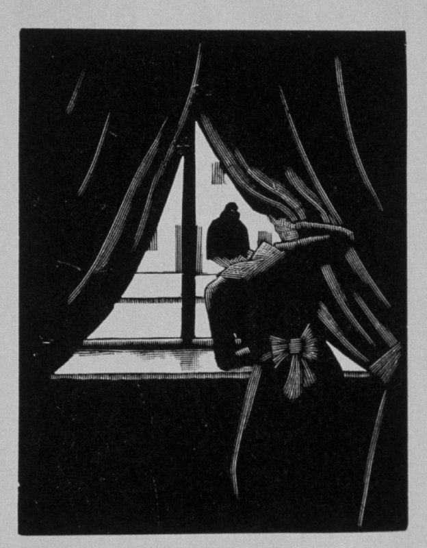 Eighth image (of twenty) for The Seducer, chapter 12 in the book Destiny, A Novel in Pictures by Otto Nückel (New York: Farrar and Rinehart, Inc. [1930 ])
