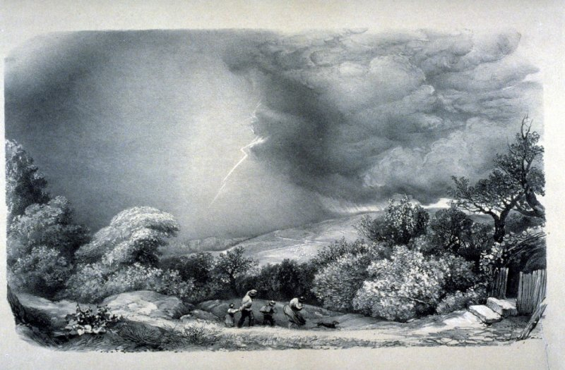 The Storm - from the Series: Landscapes by Eminent English Masters - no.38