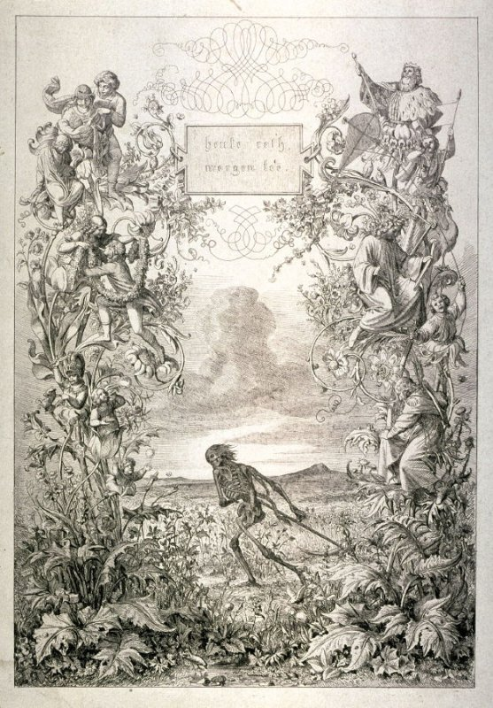 Title page: Beute roth morgen tod