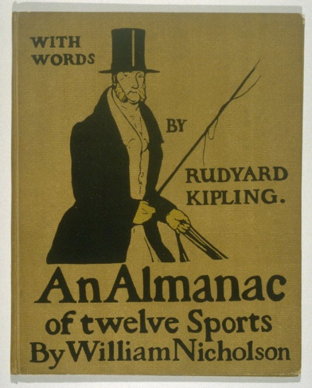 An Almanac of Twelve Sports - 12 plates; Cover
