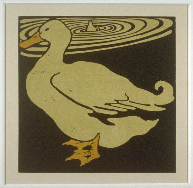 Duck, from the Square Book of Animals