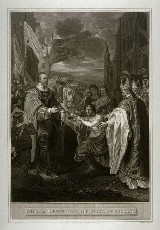 William I. Receiving the Crown of England