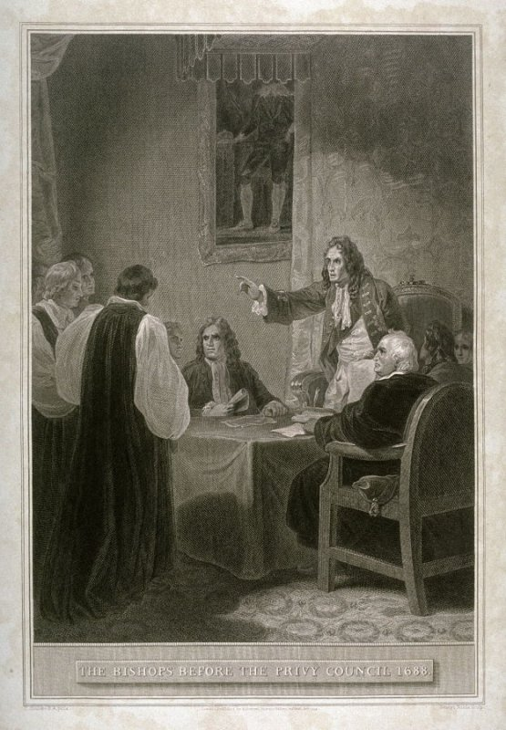 The Bishops Before the Privy Council 1688