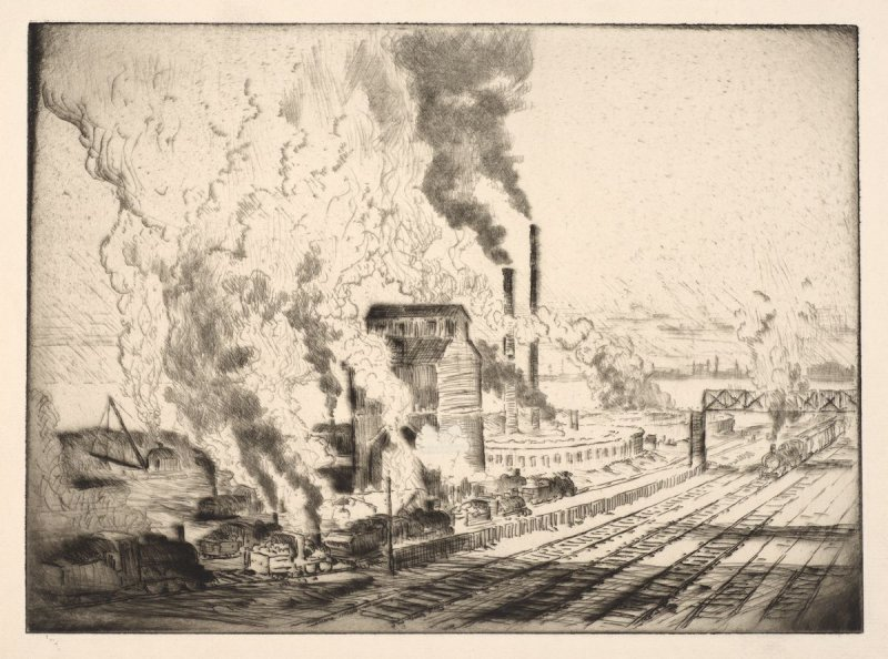 The Coal Crusher, Chicago