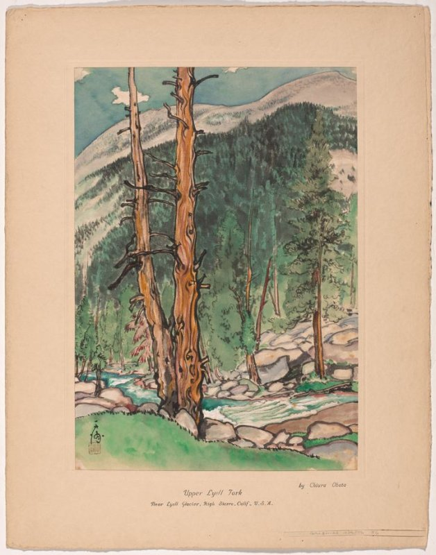 Upper Lyell Fork, Near Lyell Glacier, High Sierra, California, from the series Great Nature