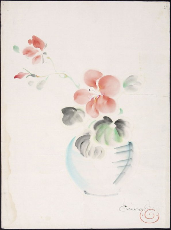 Untitled (Flowers in a Vase)
