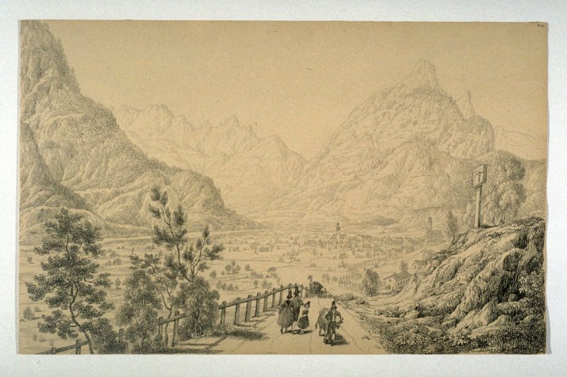 Mittenwald in the Bavarian Alps
