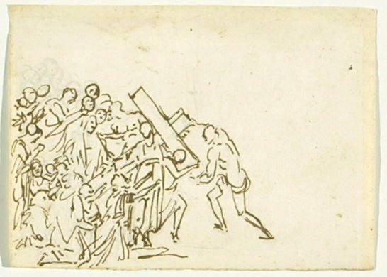 Untitled ( Christ Carrying the Cross)
