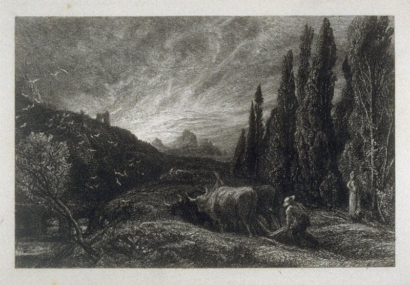 The Early Ploughman; or, The Morning Spread Upon the Mountains