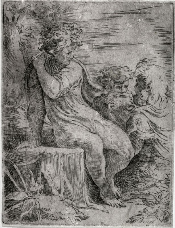 A Youth With Two Old Men