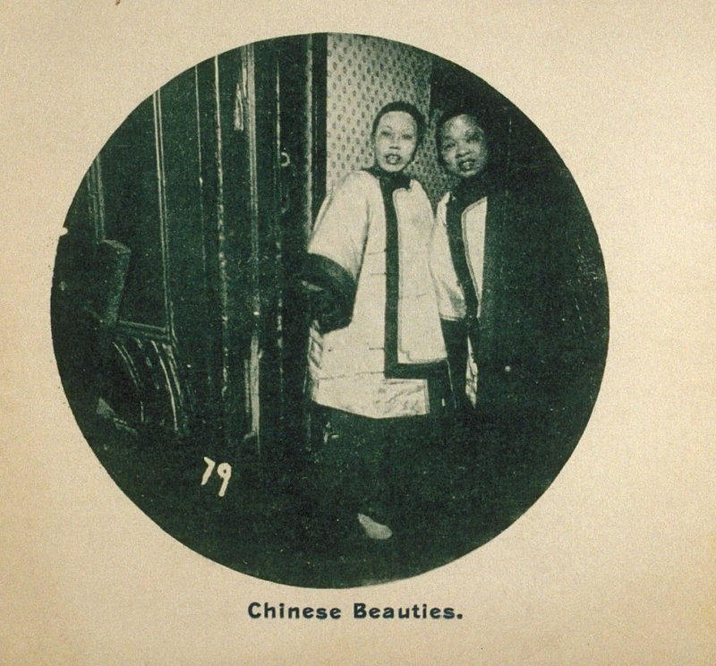 Chinese Beauties, in the album Chinatown, San Francisco