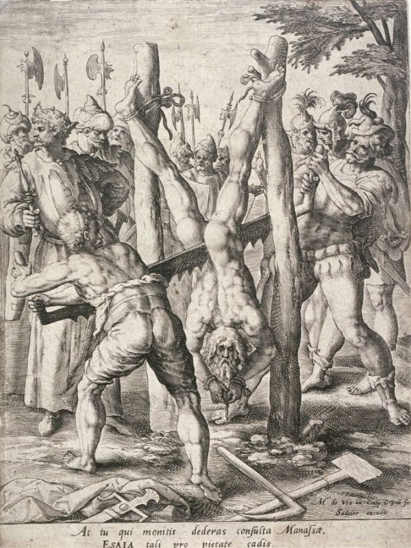 The Martyrdom of Isaia