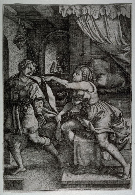 Joseph and the wife of Potiphar