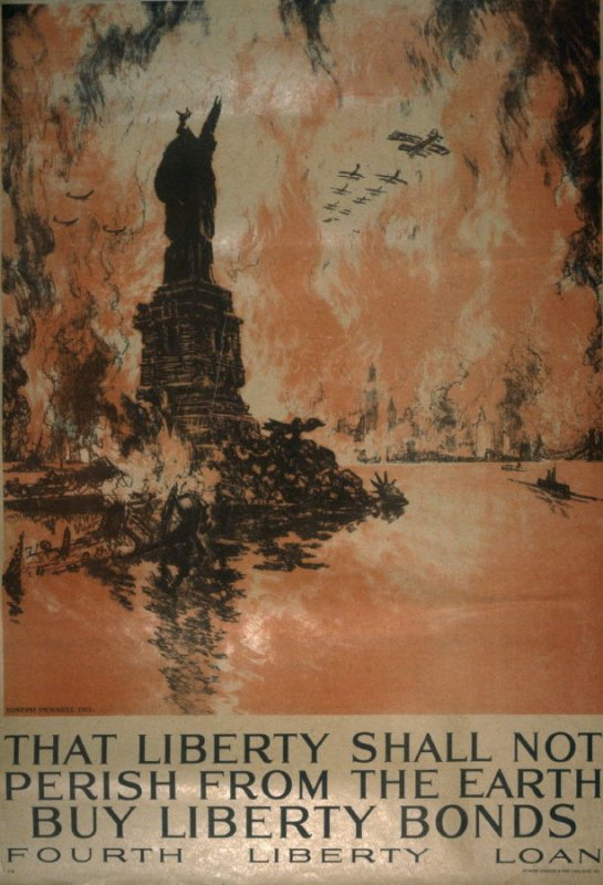 That liberty shall not perish from the earth - World War I Poster