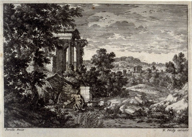 Landscape with St. Anthony?