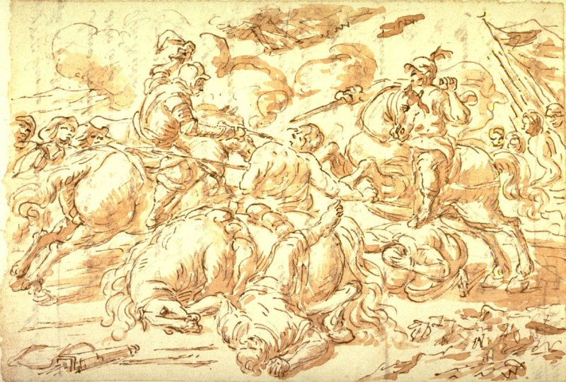 Cavalry Engagement