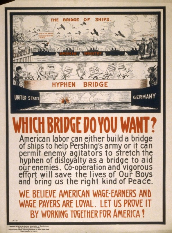 Which bridge do you want? - World War I Poster