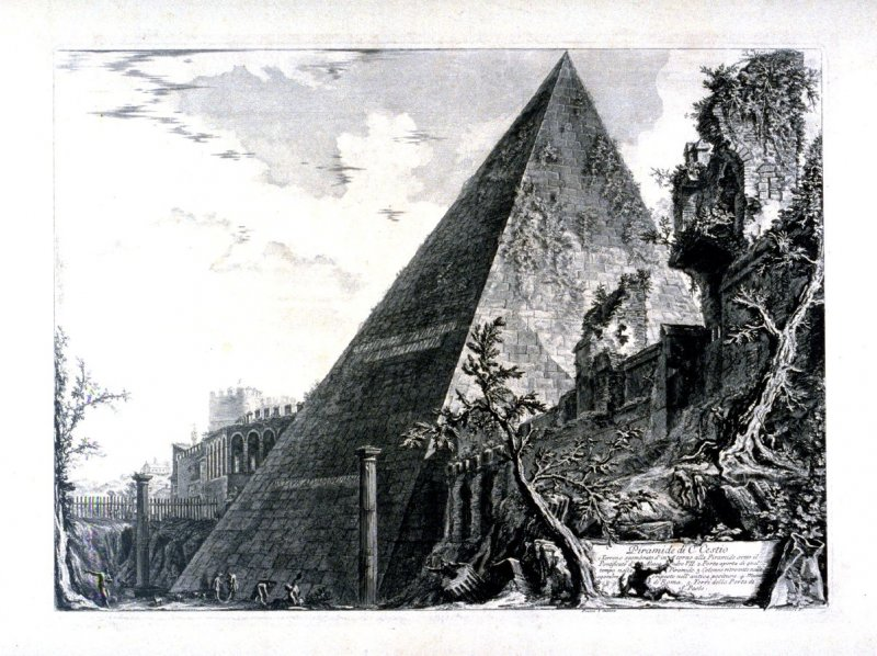 Views of Rome: Piramide di C.Cestio