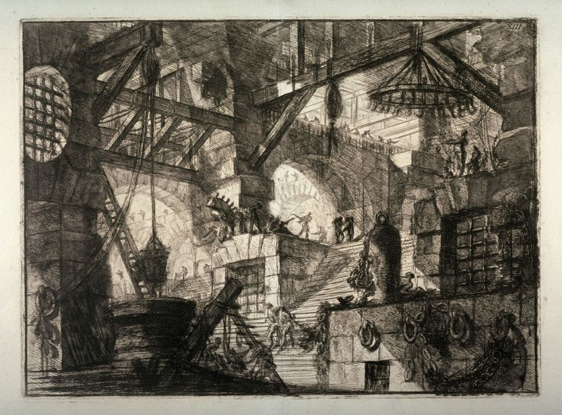 The Well, plate XIII, from the series Carceri