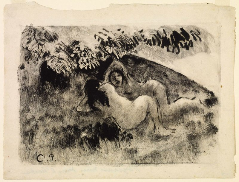 Paysannes nues dans l'herbe (Nude Peasants in the Grass)