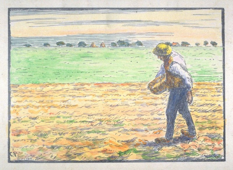 The Sower, from the series Travaux des champs
