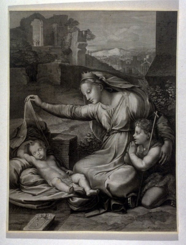 The Virgin with young John the Baptist and Sleeping Christ Child