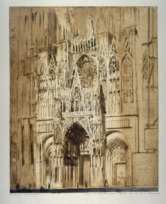 France, Rouen Cathedral