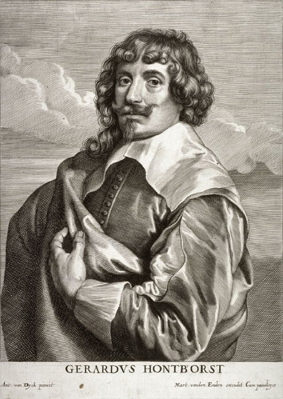 Gerrit van Honthorst, from The Iconography