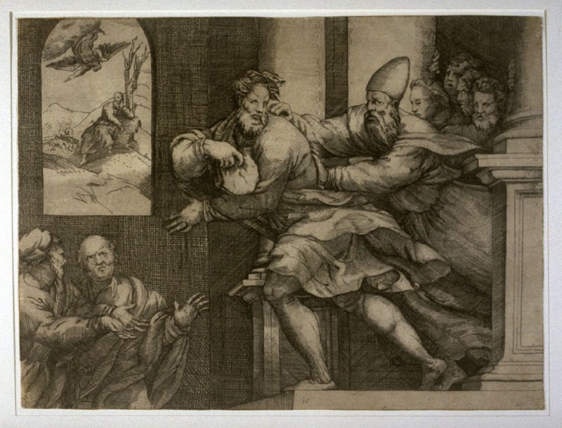 St. Joseph Being Expelled from the Temple
