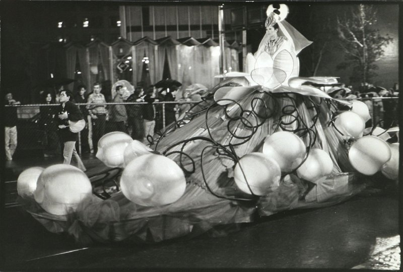 Photograph: Kwan Yin Floating Lotus from the Chinese New Year's Parade, San Francisco