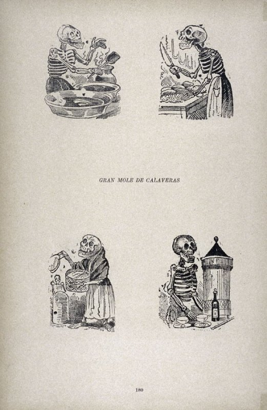 GRAN MOLE DE CALAVERAS (Grand Stew of Calaveras) as reprinted on p. 180 of the Monografia..