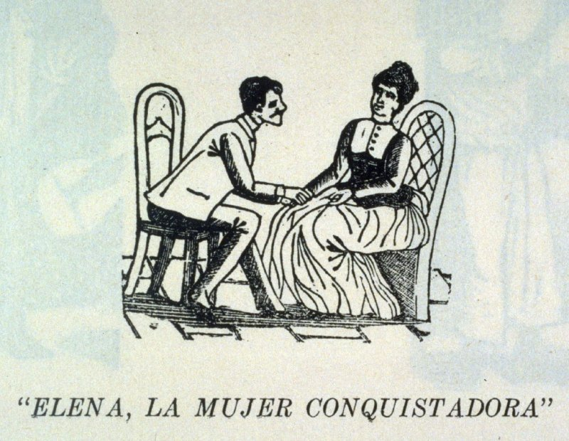 """ELENA, LA MUJER CONQUISTADORA"" (Elena, the Conquering Woman) as reprinted on p. 187 of the Monografia.."