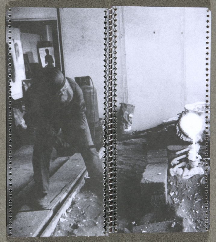 Fourth illustration (double page) in the book 1991-1993 Workplace