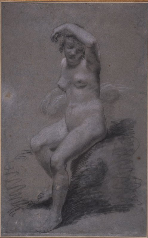 Étude de nu (Study of a Female Nude)