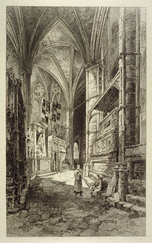 Westminster Abbey SeriesVI - North Aisle of the Choir