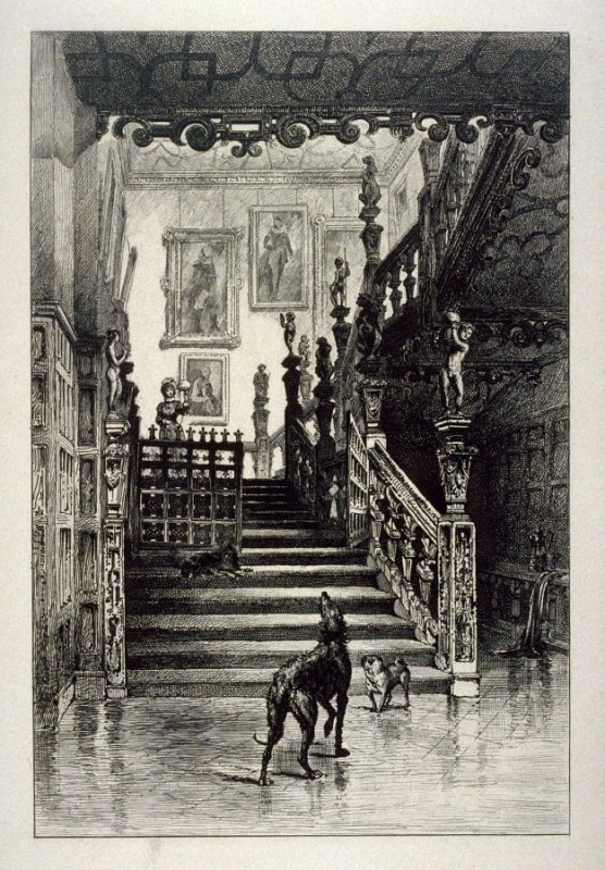 Staircase in Hatfield House