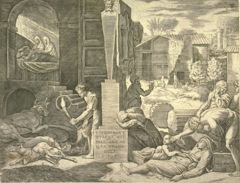 Il Morbetto (or,The Plague of Phrygia), after Raphael