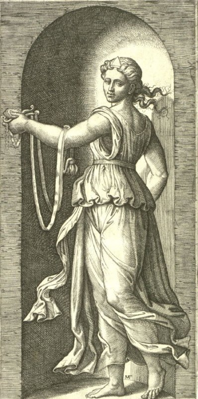 Temperance, from the series The Seven Virtues after Raphael