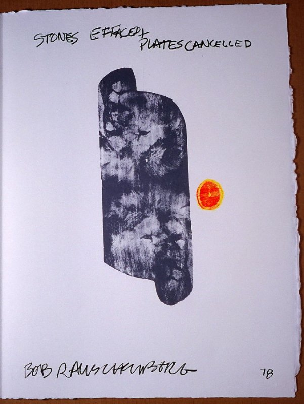 Colophon, pg. IV, in the book Traces suspectes en surface (Suspect Traces on the Surface) by Alain Robbe-Grillet (West Islip, NY: ULAE, 1978)