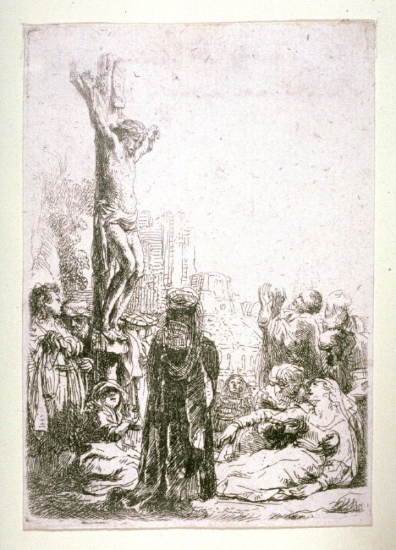 Crucifixion: small plate