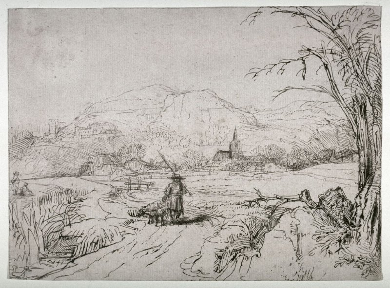 Landscape with Sportsman and Dogs (Shepherd)