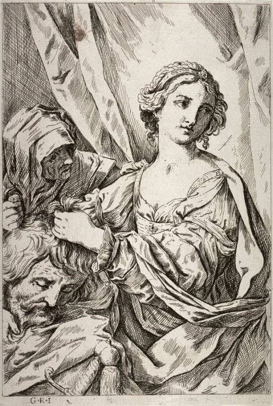 Judith with the Head of Holofernes (copy in reverse)